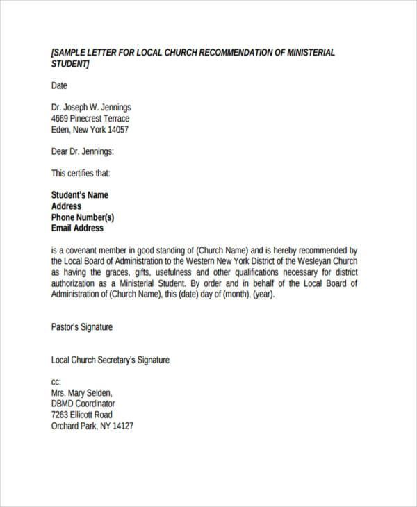 28 Letter Of Recommendation For Student Scholarship Template Cover Letter Templates Lettering Cover Letter Template Formal Business Letter