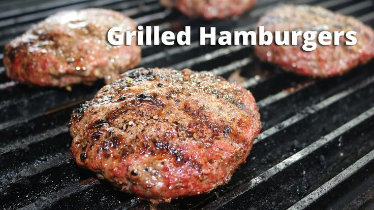 how to cook homemade burgers on bbq