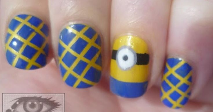 Hi!   I know, there are minion nails everywhere. I was going to wait until they died down a bit, but when I saw this tutorial from Cutepolis...