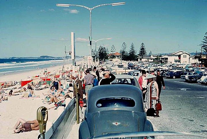 1965 Surfers Paradise Esplanade #goldcoast #beach #australia #swimwear