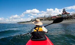 Groupon - $ 12 for $20 Towards Bike, Skate, SUP, or Kayak Rental from Alki Kayak Tours in North Admiral. Groupon deal price: $12