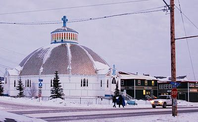 Ultima Thule: Inuvik on the Mackenzie delta, Northwest Territories (NWT) of Canada