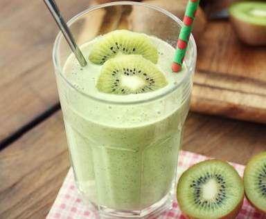 smoothie kiwi banane
