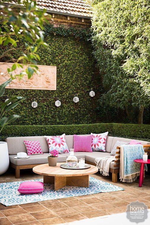 Te damos 23 propuestas para decorar tus espacios exteriores de la mejor forma y puedas disfrutar de ellos a pleno!