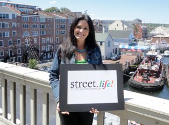 """Salina McIntire: """"Street.life is going to be right in the middle of everything that happens in Portsmouth, which is Pleasant Street, right in Market Square!""""   -Salina McIntire, Director of Marketing at BANK W Holdings.: Street Life, Pleasant Street, Events Host, Street Shots, Local Business, Hampshire Town, New Hampshire, Marketing Squares"""