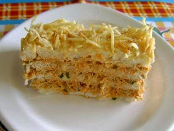 Receita de Torta fria de salpicão diferente - Show de Receitas