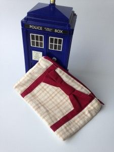 Doctor Who zipper coin purse by Erica Dietz