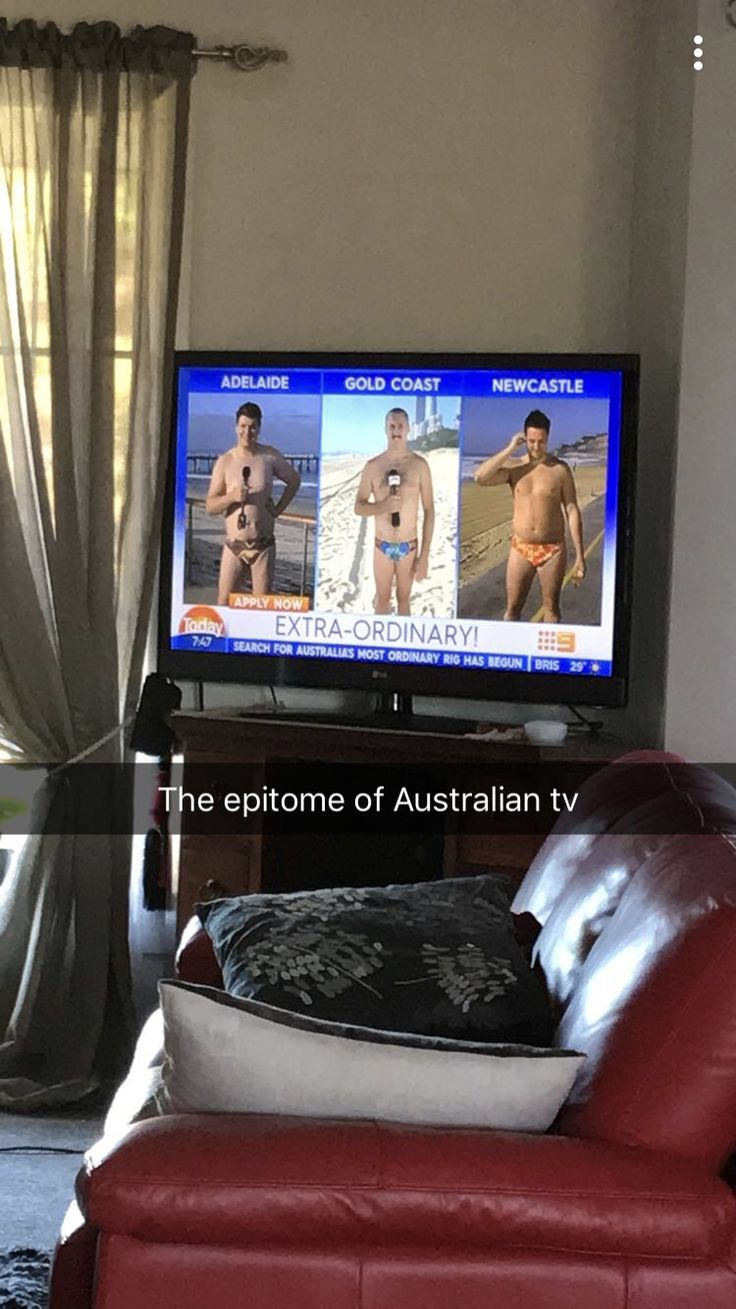Australian morning news for the win