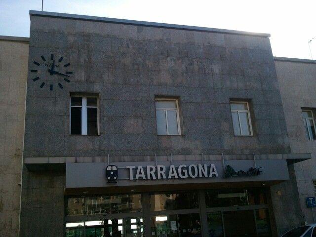 タラゴナ駅/Tarragona station @Spain