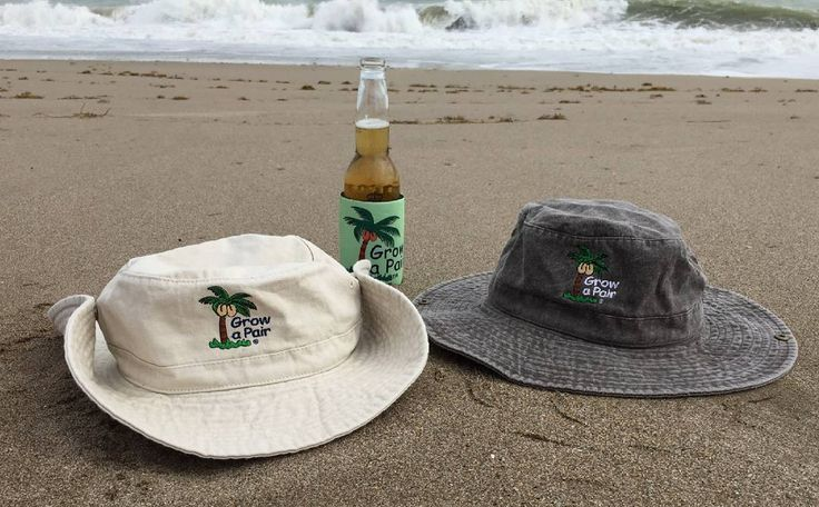 Grow a Pair and get your new beach hat $24.95. Check out our new hats  @grow_a_pair #cool #beach #babes #bikinis #boating #fishing #growapair #island #saltlife #sand #waves #ocean #keys #keywest #surf #surfer #beachbabes #sun #tan #sunprotection #man-up #manup #fishing