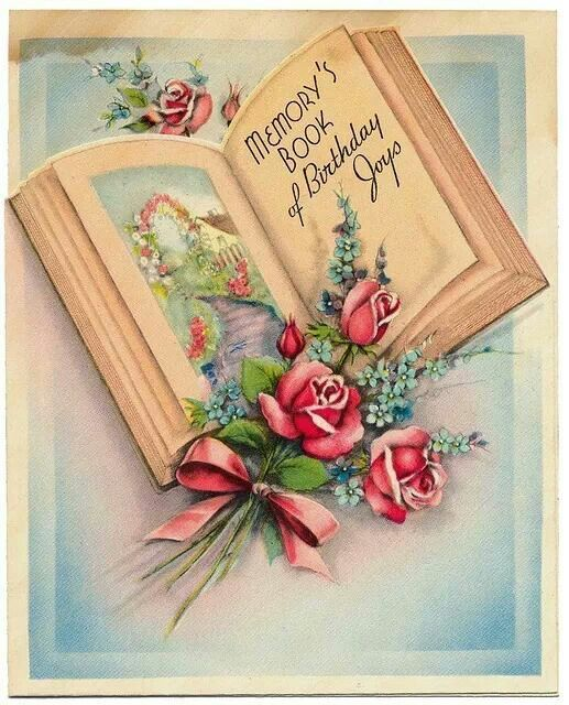 Images Of Vintage Girls First Birthday Card: 275 Best Vintage Birthday Images Images On Pinterest
