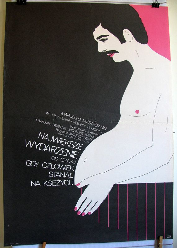 French 1973s film L'événement le plus important by artwardrobe, $99.99