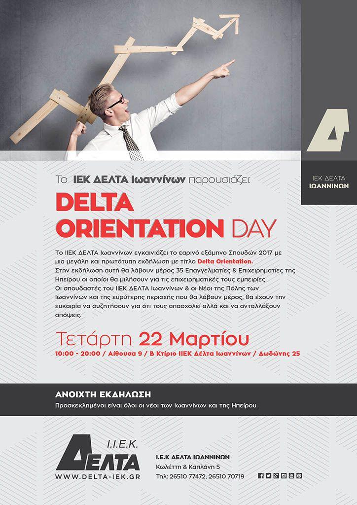 Delta orientation day