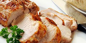 Pork Tenderloin with Apricots and Bok Choy
