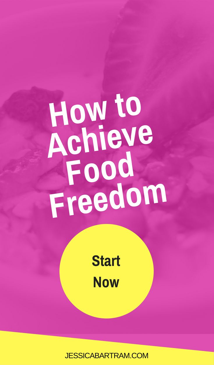 Stop eating crap and find food freedom
