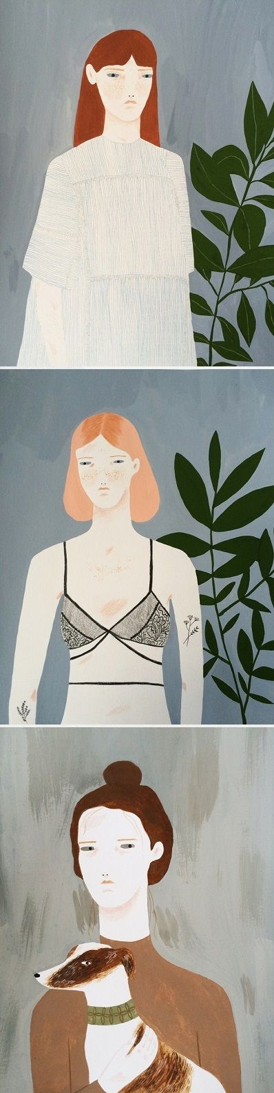 Illustrations by Alessandra Genualdo / On the Blog!