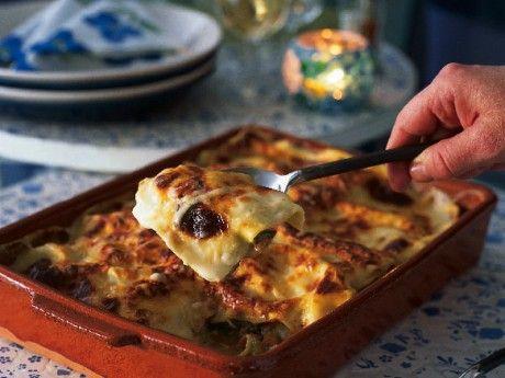 Lasagne med fisk Receptbild - Allt om Mat