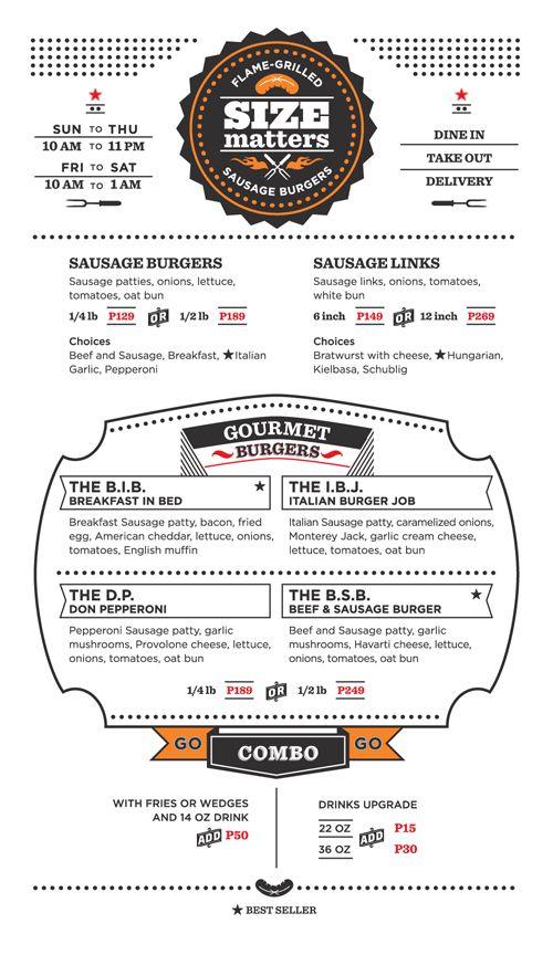 23 best Restaurant Menus images on Pinterest Diner restaurant - how to make a restaurant menu on microsoft word