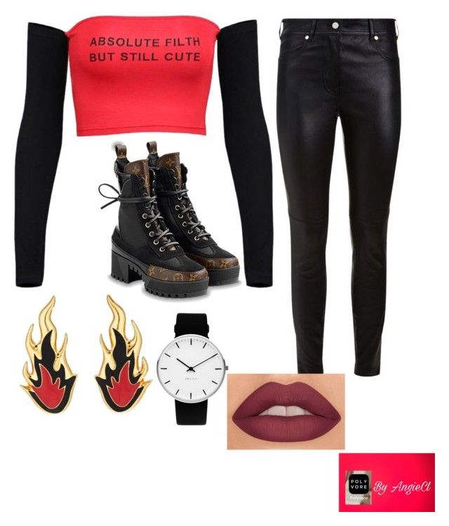 🔥 by angiecl on Polyvore featuring polyvore, fashion, style, Givenchy, AMBUSH, Rosendahl and clothing