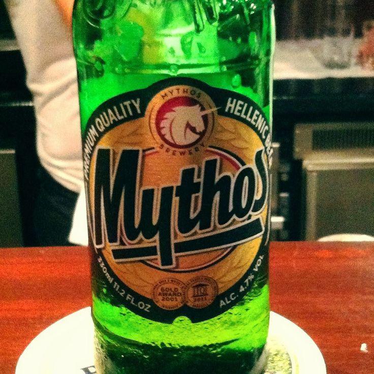 Greek Mythos Beer #greek #beer #bier #mythos #lifestyle #bar #drink #trinken #tresen #hellenic by v_kyriakides