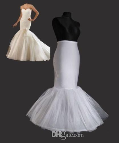 2014 Cheapest Mermaid Petticoat/Slip 1 Hoop Bone Elastic Wedding Dress Crinoline Trumpet High Quality Saree Petticoat Petticoat Dress From Kiss_dress, $15.08| Dhgate.Com