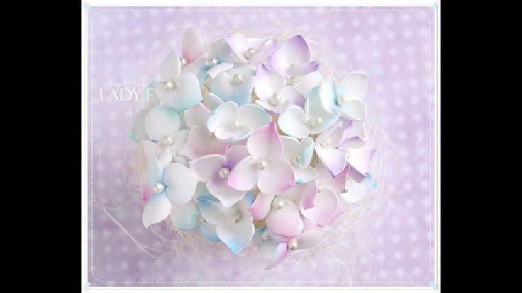 Little Foamiran Flowers Tutorial