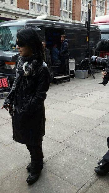 VAMPS LIVE 2014 at KOKO,LONDON.(arriving) March 28,Fri