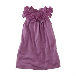 Blooming Lily Shift Dress   Your little lady will bloom in this soft shift dress with pretty petals framing the neckline.