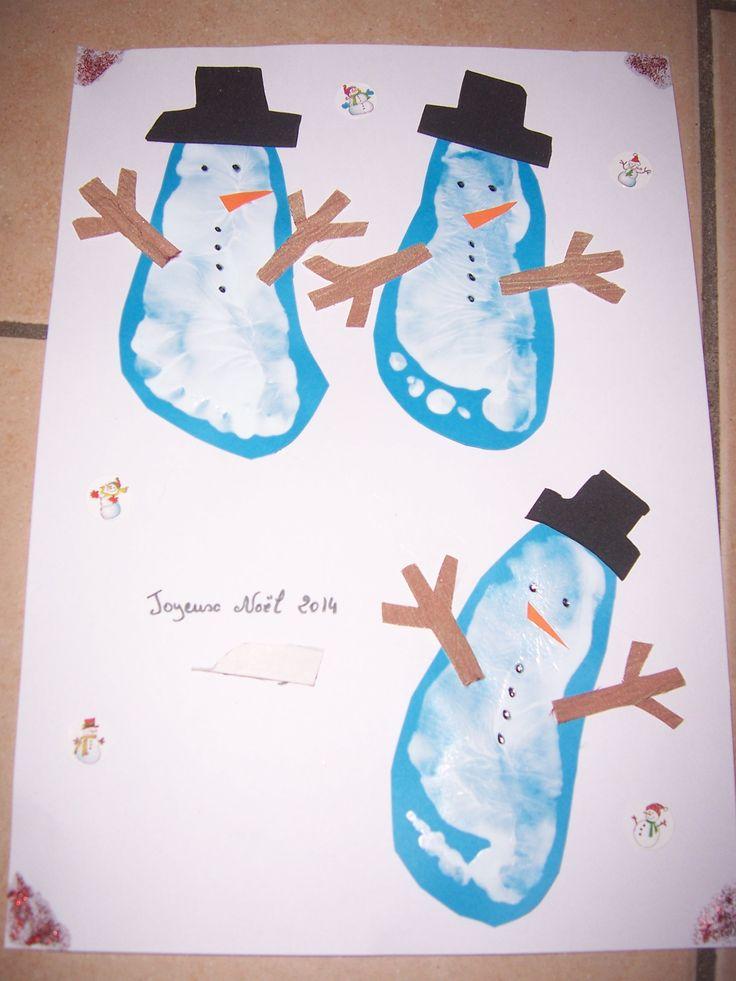 215 best bricolage fait a la maison par les enfants images on pinterest bricolage bunny and - Bonhomme de neige bricolage ...