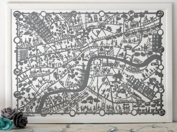 Best London UK Images On Pinterest Advertising Cities And - Artist creates ridiculously detailed paper cuts of city maps