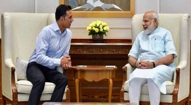 New Delhi: Akshay Kumar, who has been doing everything for the soldiers of our country, recently met Prime Minister Narendra Modi to talk about his upcoming movie 'Toilet: Ek Prem Katha.' The 49-year-old actor took to Twitter and shared a photo of his meeting with PM Modi where both...