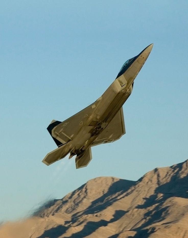 F-22 Raptor, Nellis Air Force Base, Nevada, USA