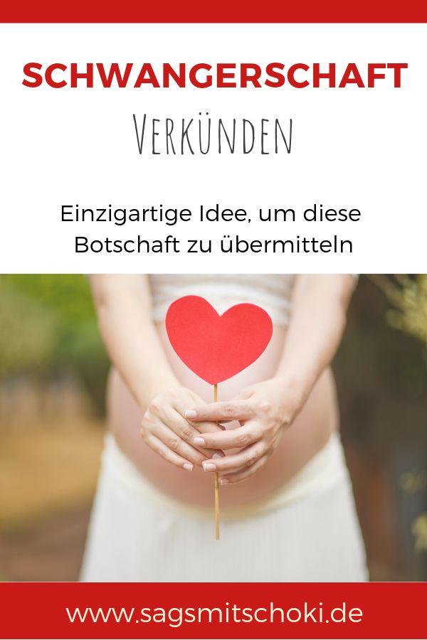 Schwangerschaft verkünden – diese Idee ist so süß und bleibt bestimmt unverge…