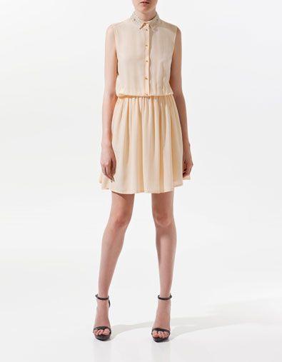 Collared dress.