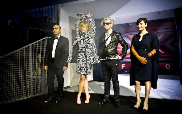 I 4 giudici di X Factor 2012