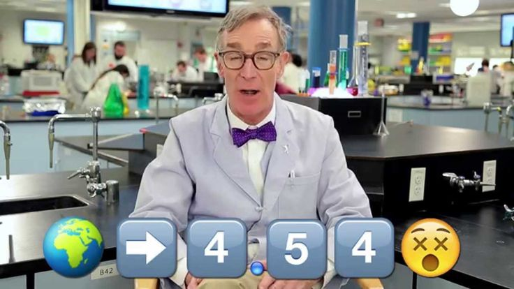 Bill Nye the Science Guy Explains the Process of Evolution Using Emoji