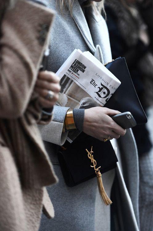 London Fashion Week - YSL