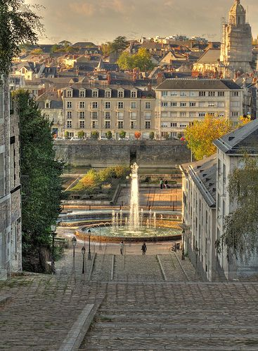 Angers, Loire Valley, France. Somewhere I'd like to visit soon... either way I'll always see this and remember everything, even when you're not here.