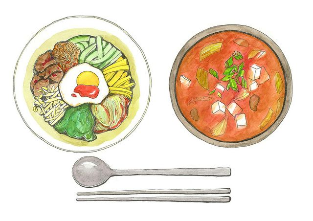 Korean Food   Flickr - Photo Sharing!