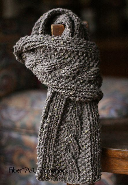 17 Best ideas about Cable Knit Scarves on Pinterest Cable knit, Cable knitt...
