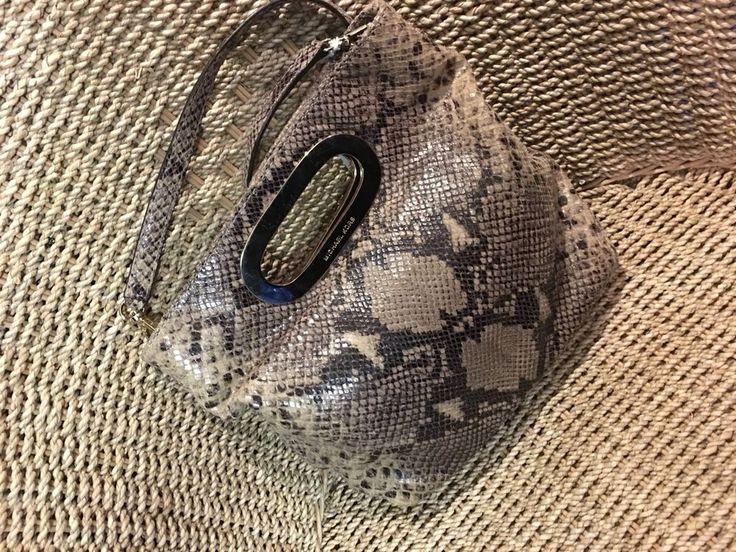 Michael Kors Snake Skin Bag   | eBay