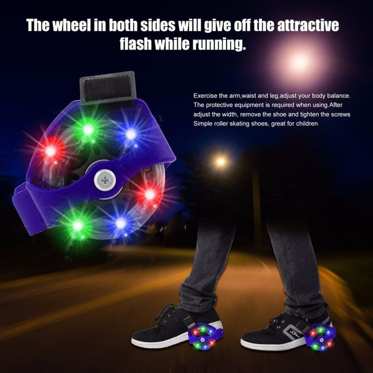 Blue/Black Flashing Roller Skating Shoes Small Whirlwind Pulley Flash <font><b>Wheel</b></font> Roller Skates Sports Rollerskate Shoes for Kids <font><b>Hot</b></font>