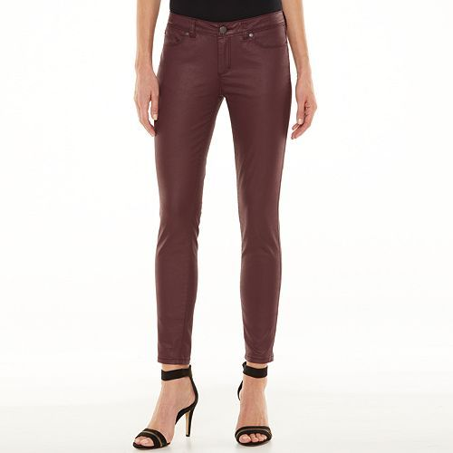 LC Lauren Conrad Coated Jeggings - Women's #Kohls