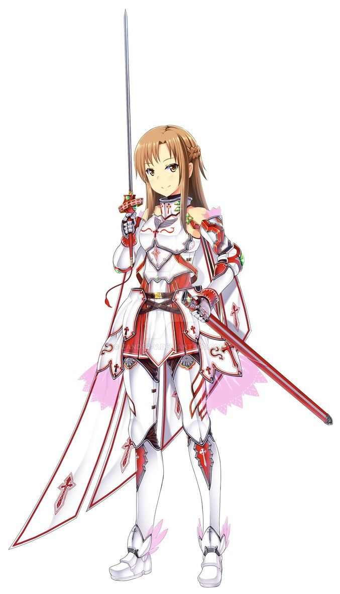 Blood Valkyrie Asuna the armours too heavy compared to what she normally uses.