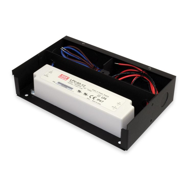 Junction Box/ Housing for LED Drivers/ Wires  sc 1 st  Pinterest : low voltage wiring code - yogabreezes.com