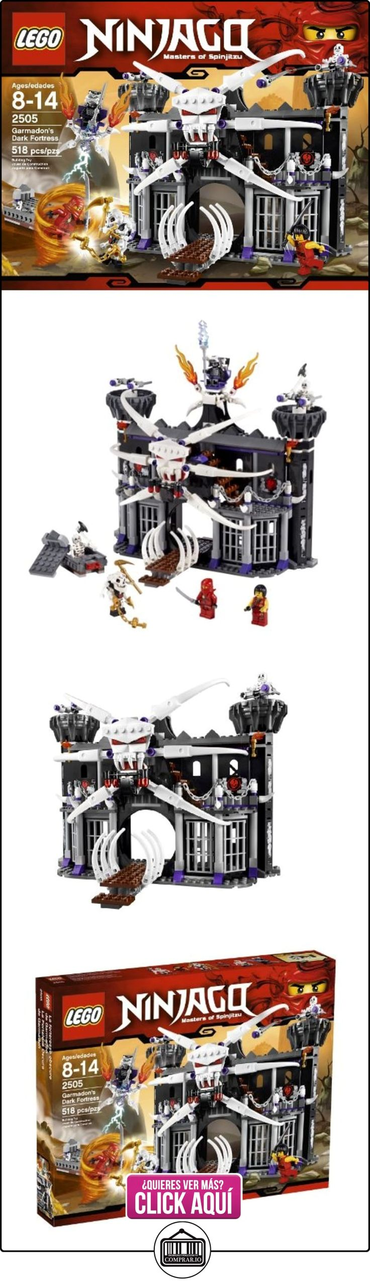 LEGO Ninjago Garmadon's Dark Fortress 518pieza(s) - juegos de construcción (Multicolor)  ✿ Lego - el surtido más amplio ✿ ▬► Ver oferta: https://comprar.io/goto/B004478GD8