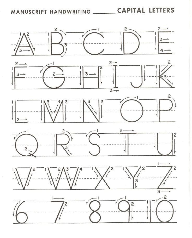 Letter Practice for Preschoolers in 2020 Handwriting
