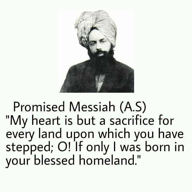 Promised Messiah's actions and writings reflects the beauty of Muhammad(saw). Islam Ahmadiyya #IslamAhmadiyya #Islam #HappyPromisedMessiahDay
