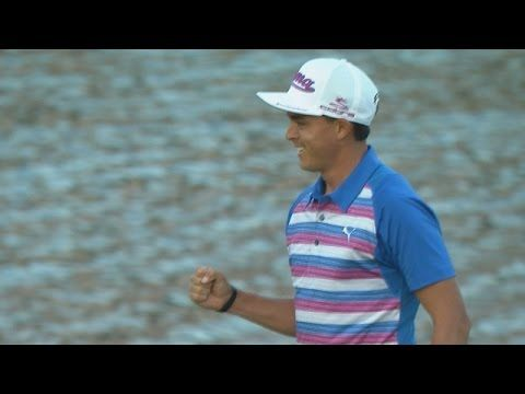 Counting down the top 10 PGA TOUR shots of 2015.