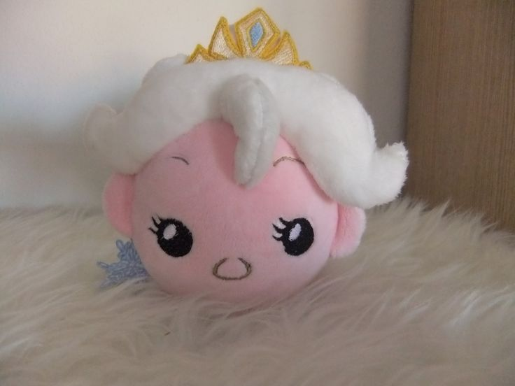 Plush tsum-tsum pon-pon Frosen Anna and Elsa by MLPplushartwork on Etsy